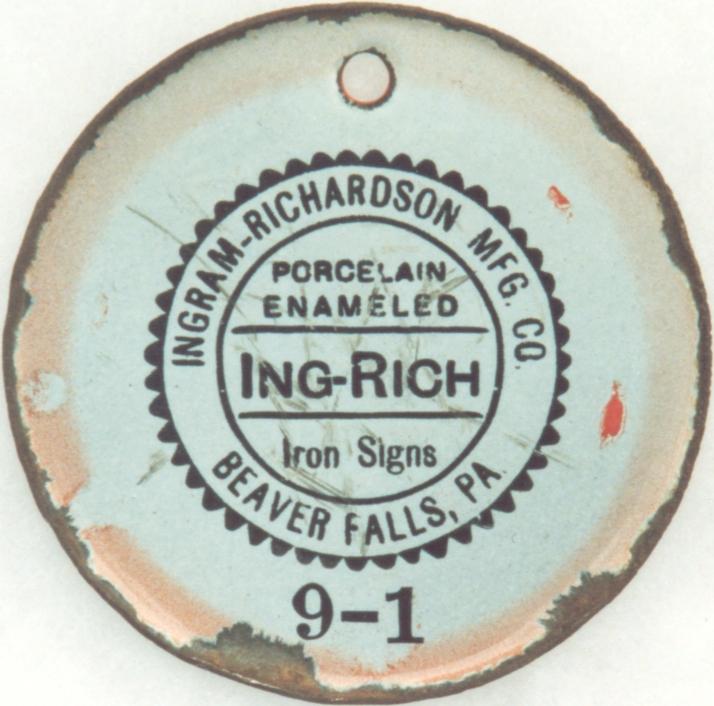 The Ingram-Richardson Manufacturing Company - Beaver Falls, PA