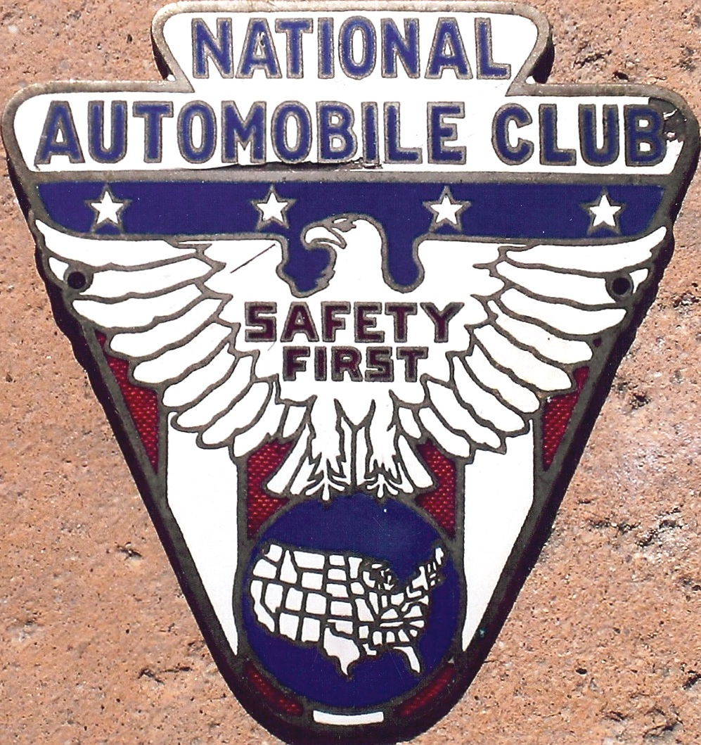 Porcelain Auto Club Badges National Regional Unknown