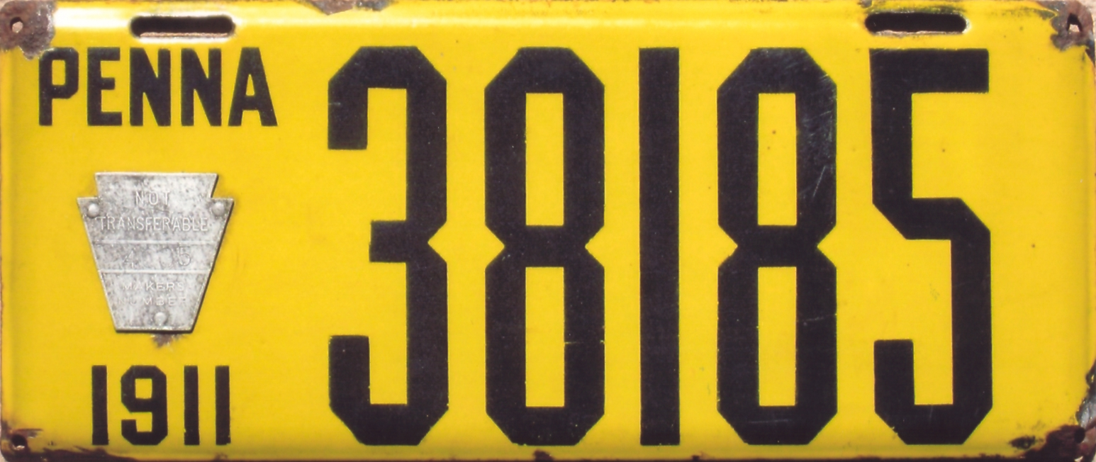 ARCHIVE: Pennsylvania Porcelain License Plates (Part 2 of 2)